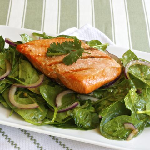 SALMON & SPINACH